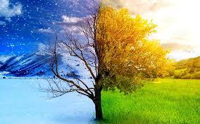 changes of seasons