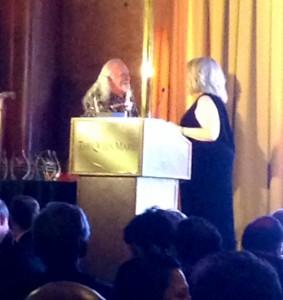Rod accepting Award