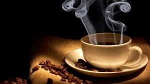 Steaming cup of Cherokee Ground