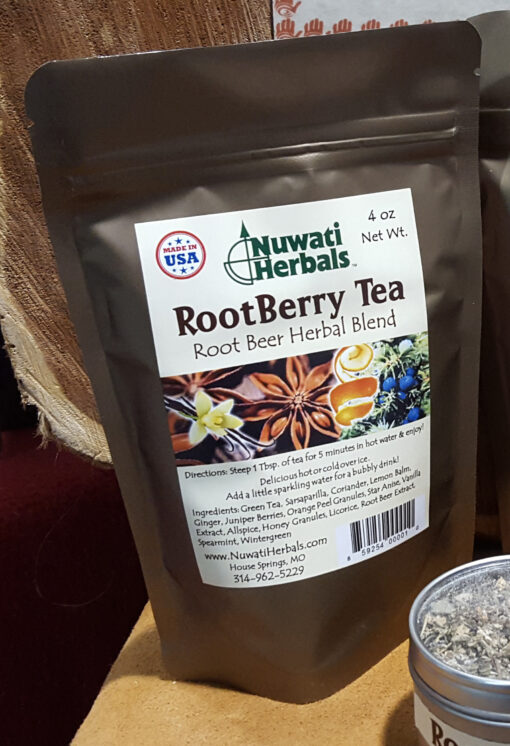 Rootberry tea photo for web