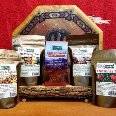 Flavored Teas & Herbal Coffee
